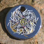 Celtic Wolves Tag